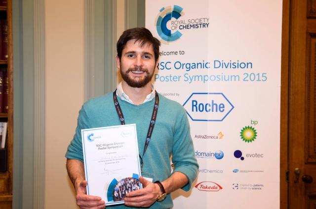 Giacomo RSC prize